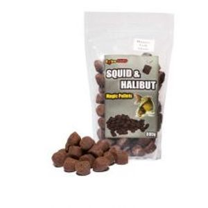Extra Carp pelety squid & halibut pellets 22 mm 800 g-Peach