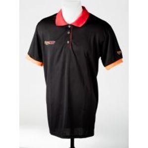 Extra Carp Tričko Polo Black-Veľkosť L