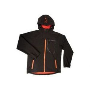 Fox Bunda Softshell Jacket Black/Orange-Veľkosť XXL