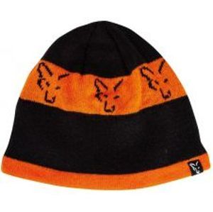 Fox Čiapka Black Orange Beanie