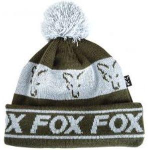 Fox Čiapka Green Silver Lined Bobble