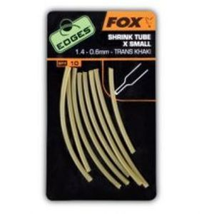 Fox Edges Shrink Tube Medium 2,4-0,8 mm Trans Khaki 10 ks