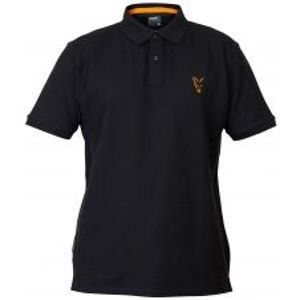 Fox Tričko Collection Black Orange Polo Shirt-Veľkosť XXXL