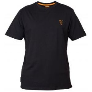 Fox Tričko Collection Black Orange T Shirt-Veľkosť XXXL