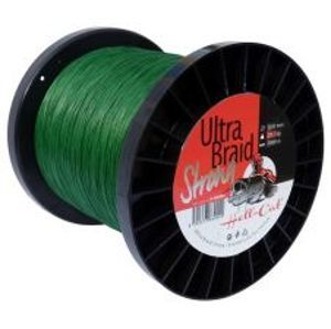 Hell-Cat Splietaná Šnúra Ultra Braid Strong Zelená 1000m-Průměr 0,41 mm / Nosnost 29,5 kg