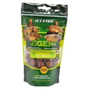 Jet Fish Boilies Legend Range Extra Tvrdé 250 g 20 mm-Klub Red + A.C. Slivka / Scopex