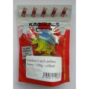 Kamikaze Carp Pelety Halibut Catch Pellets 8 mm 100 g-Brusnica
