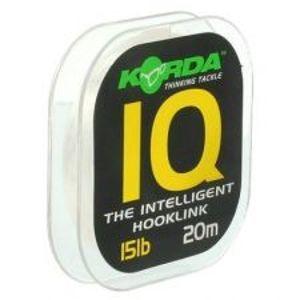 Korda Fluorocarbon  IQ The Intelligent Hooklink 20 m-Nosnosť 25 lb