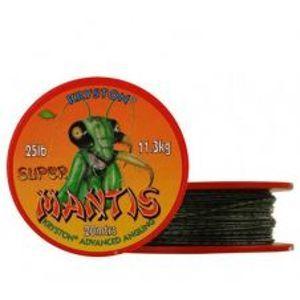 Kryston Náväzcová Šnúra Filmom Super Mantis Green 20 m-Nosnosť 15 lb