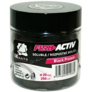 LK Baits Boilie Fish Activ 250 ml 20 mm-wild strawberry