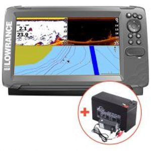 Lowrance Hook² 9 So Sondou Splitshot