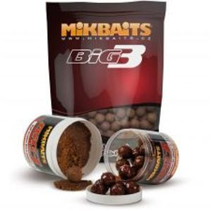 Mikbaits Boilie Legends BigB Broskyňa Black Pepper-2,5 kg 20 mm