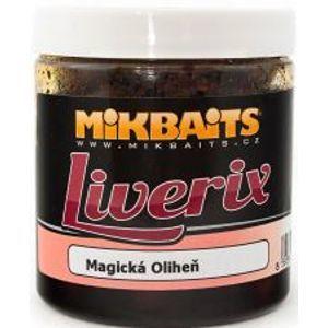 Mikbaits LiveriX boilie v dipe  250 g-Mazaná Škebľa 24mm