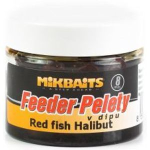 Mikbaits Pelety Feeder V Dipe 50 ml-Slivka Halibut