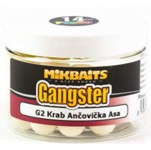 Mikbaits Plávajúce Boilies Gangster 150 ml-g7 master krill 14 mm