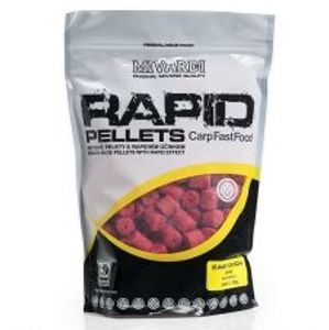 Mivardi Pelety Rapid Easy Catch Jahoda-2,5 kg 4 mm