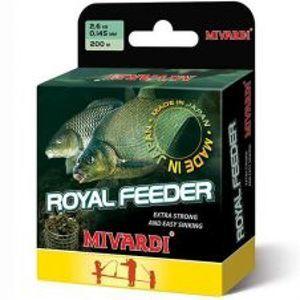 Mivardi Vlasec Royal Feeder Green 200 m-Priemer 0,185 mm / Nosnosť 3,9 kg