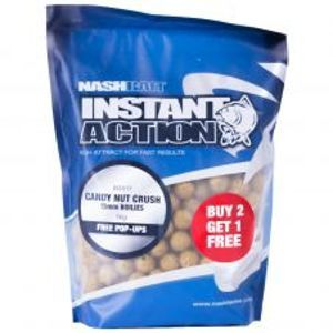 Nash Boilies Instant Action Candy Nut Crush-1 kg 20 mm