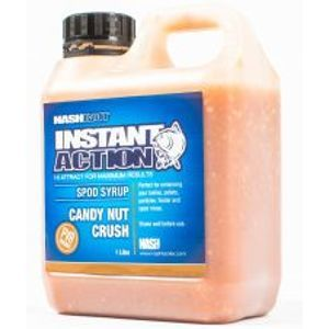 Nash Syrup Instant Action Spod Syrups Candy Nut Crush 1 l