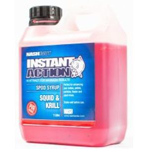 Nash Syrup Instant Action Spod Syrups Squid And Krill 1 l