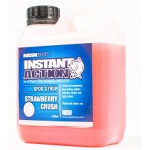 Nash Syrup Instant Action Spod Syrups Strawberry Crush 1 l