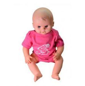 R-SPEKT Baby body Carp friend pink-Veľkosť 3-6 mes.