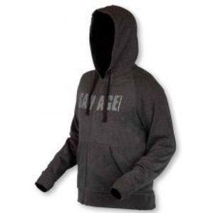 Savage Gear Mikina Simply Savage Zip Hoodie-Veľkosť S