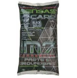 Sensas Kŕmenie IM7 Groundbait 1 kg-black squid